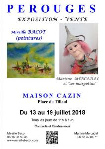 EXPOSITION - VENTE  PEROUGES  01