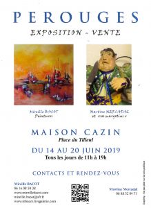 EXPOSITION-VENTE.....PEROUGES  01